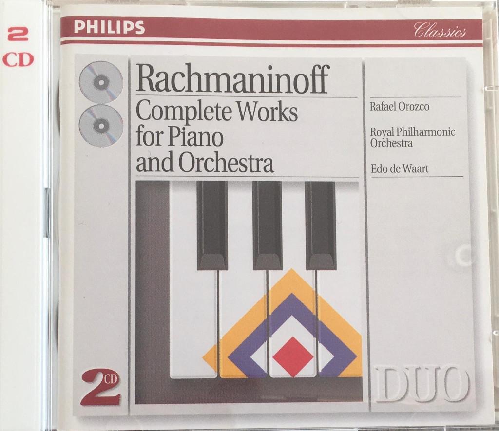 CONCIERTO PARA PIANO Y ORQUESTA Nº1 EN FA SOSTENIDO MENOR, OP. 1 DE S. RACHMANINOV RACHMANINOV-01